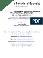 Human Resource Management and Organizational Performance