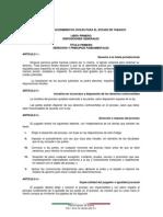 Codifo de Procedimientos Civiles de Tabasco