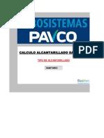 Alcantarillado ( B. El Recreo Cr. 27) Ks (C-W) PAVCO-RAS 2000 (03!02!2011)