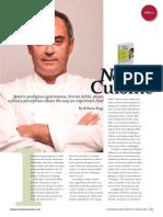 Ferran Adrià Nueva Cuisine