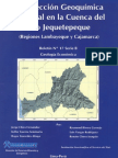 BOLETIN Nº 017- PROSPECCION GEOQUIMICA REGIONAL DE LA CUENCA DEL RIO JEQUETEPEQUE