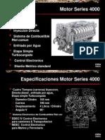 Curso de Motores Series 4000 MTU