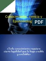 Conocimiento, ciencia y Epistemología