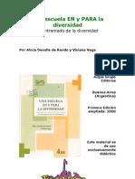 Alicia Del Valle de Rendo Una Escuela en y Para La Diversidad Cap1-3