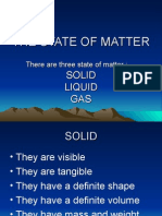 The State of Matter