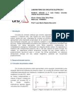 Relatório  laboratório de circuitos eletricos - 7° aula pratica