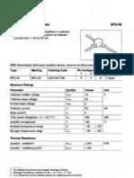 BFQ69 Datasheet RF NPN