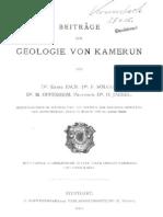 Über Tertiärfossilien, Wahrscheinlich Eozänen Alters, Von Kamerun