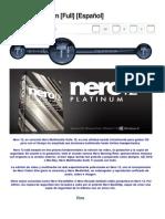 Nero 12 Platinum [Full] [Español] - Taringa!