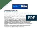 - Manual PerfectDisk 12.5 En