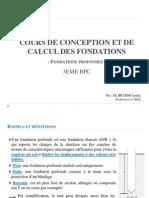 calcul fondations profondes