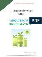 Arquitectura Bioclimática - Introducción