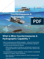 Remote MCM and Hydrography