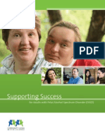 Supporting Success for Adults With FASD