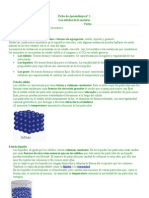 Ficha estados de la materia 2°
