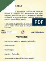 Protocolo+Regras  arquivamento