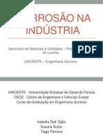 Corrosão na indústria final