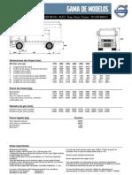 Especificaciones FH16 Rígido
