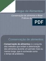 Conservação de alimentos e BPF