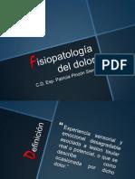 1.1 Fisiopatologia Del Dolor
