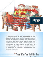 Funciones b+ísicas de familia