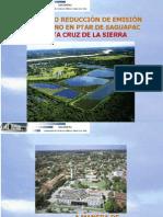 Proyecto reducc. emisiones