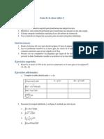 Guía de la clase taller 2