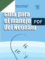 Guia Para El Manejo Del Neonato