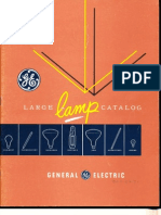 GE 1954 Lamp Catalog
