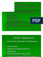 Aircraft Design - Aerofoil and Geometry Selection