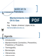 Unidad 6 Mantenimiento Oil & Gas