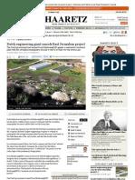 Dutch Engineering Giant Cancels East Jerusalem Project / Barak Ravid, 6.9.13