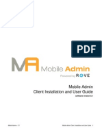 Mobile Admin Client Guide