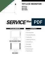 Samsung GH15LS LCD Monitor Service Manual
