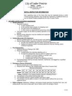 Rental Inspection Checklist