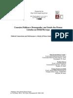 Conexões Políticas e Desempenho - 2012