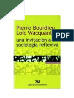 BOURDIEU y WACQUANT_Una invitación a la sociología reflexiva (cap. 2)