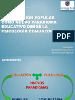 2. La Educación Popular como nuevo paradigma educativo desde