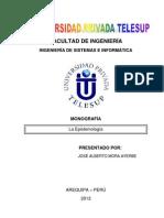 La epistemologíaTrabajoFinal