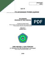072.B.08. RPP Menerapkan Prinsip Prinsip Seni Grafis Dalam Desain Komunikasi Visual Untuk Multimedia
