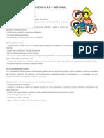 Normas de Transito Vehicular y Peatonal