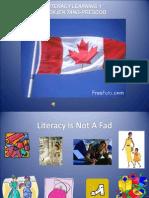 Literacy 1 - Final Slides - June 20th 2009