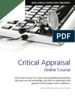Critical Appraisal Online Course