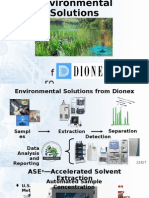 Environmental Solutions -Dionex