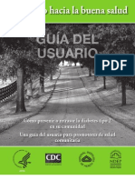 Road to Health User Guide Spanish