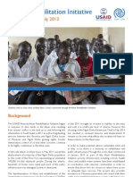 Abyei Rehabilitation Initiative Update