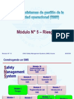 OACI SMS M05 – Riesgos (R13) 09 (S)