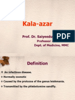 Kala-azar ( Leishmaniasis ) Symptoms, Signs, Diagnosis