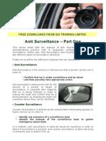 Anti Surveillance Part 1