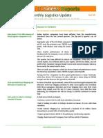 IBR India Logistics Newsletter Aug'13